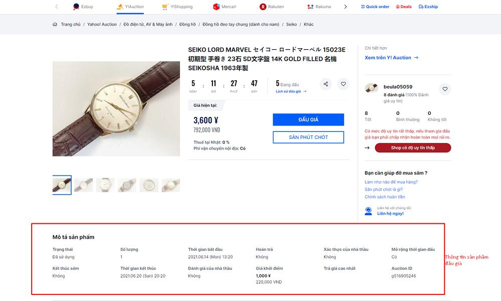 Chia sẻ kinh nghiệm đấu giá Yahoo Nhật Bản