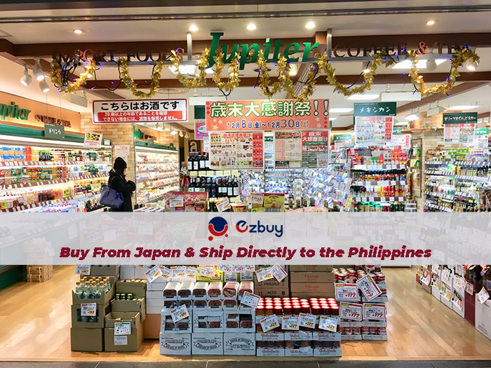 Buy From Japan and Ship Directly to the Philippines with EZbuy