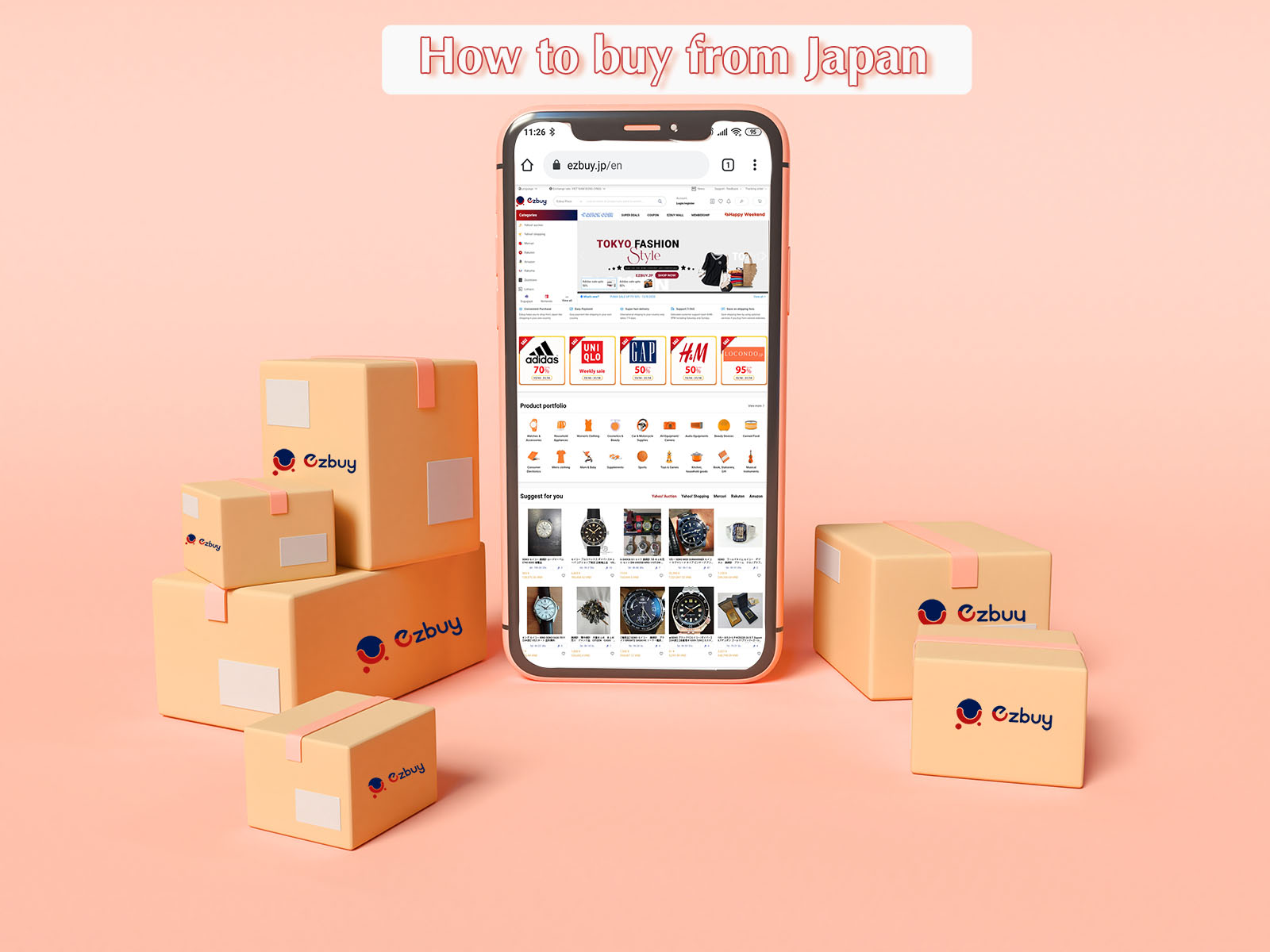 How to buy from Japan