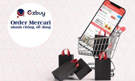 Order Mercari nhanh chóng, dễ dàng