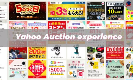 Yahoo Auction experience
