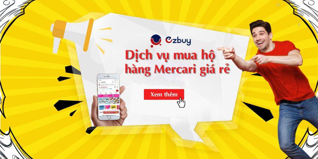 Dịch vụ mua hộ hàng Mercari giá rẻ