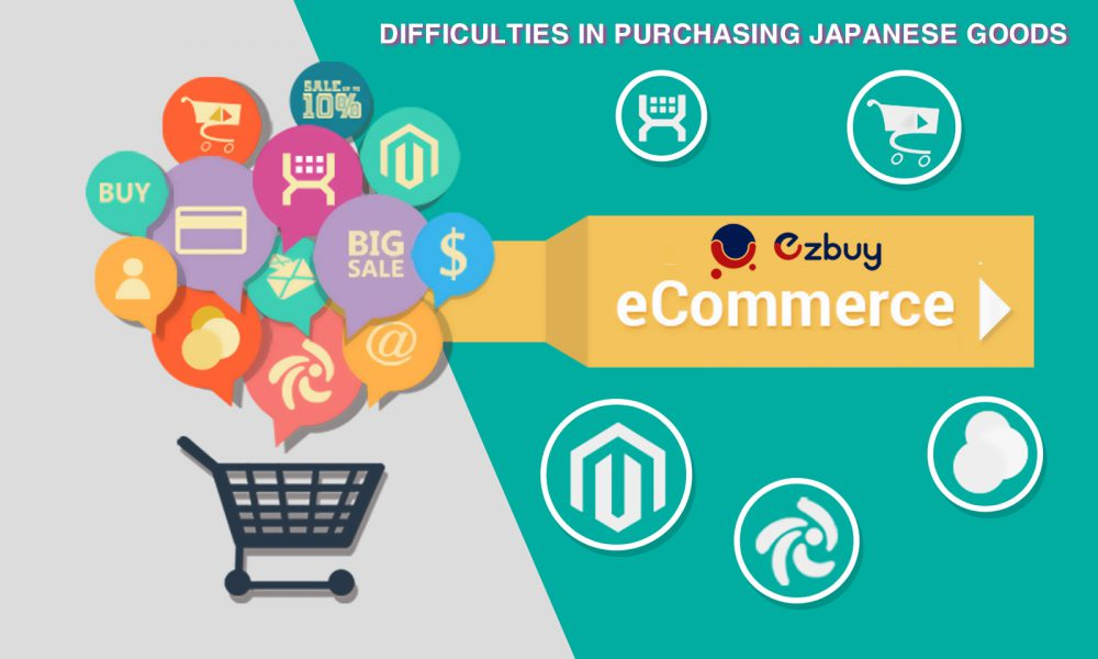 Difficulties in purchasing Japanese goods on your own