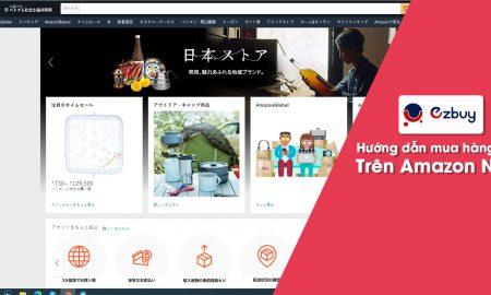 Hướng dẫn mua hàng trên Amazon Nhật