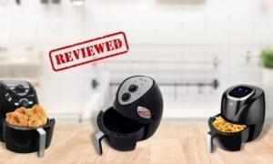 Review 3 thương hiệu nồi chiên không dầu nhật nội địa