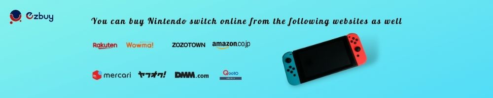How to Buy a Nintendo Switch Online from Japan?