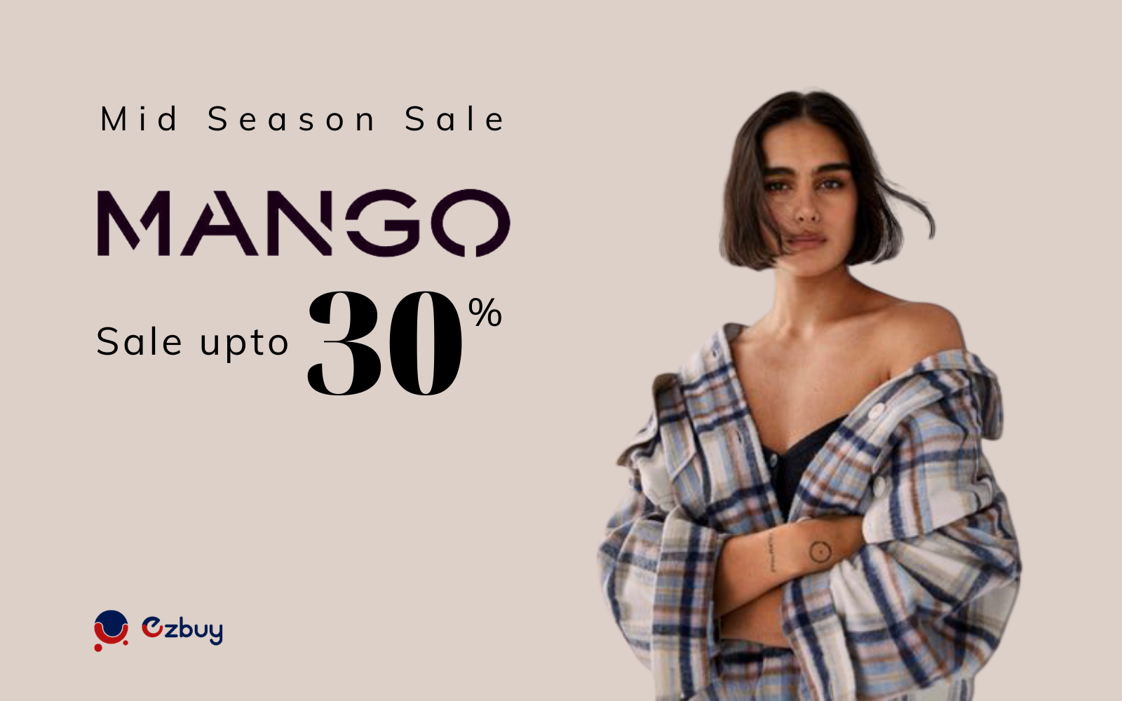 Mango is opening a great summer sale - Up to 30% off - Applied until the end of May 31, 2021