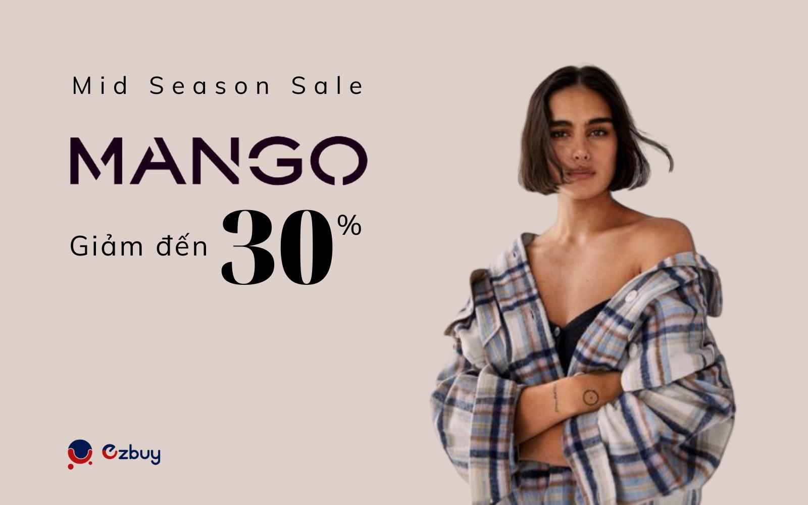 Mango mở đại tiệc sale mùa hè - Giảm đến 30%