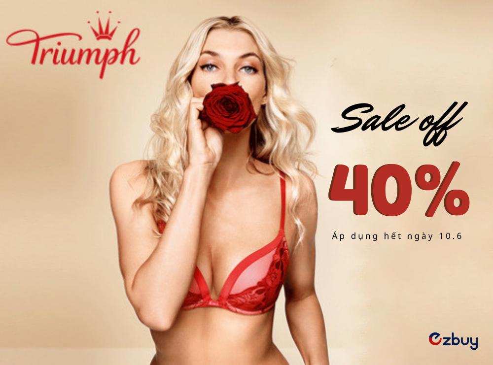 Áo ngực TRIUMPH bền đẹp - SALE OFF 40%