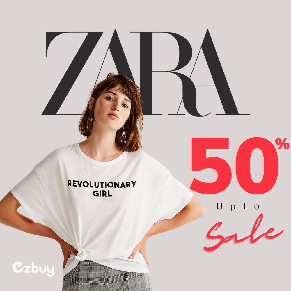 "HOT: ZARA ""nhộn nhịp"" sale lớn đón hè tới 50%"