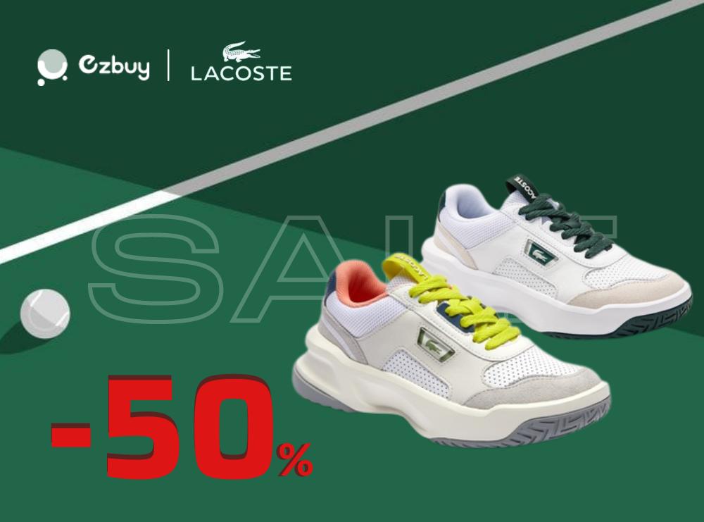 Bộ sưu tập giày nữ LACOSTE giảm 30% 50%